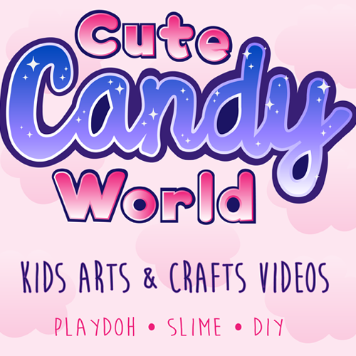 Cute Candy World YouTube Banner